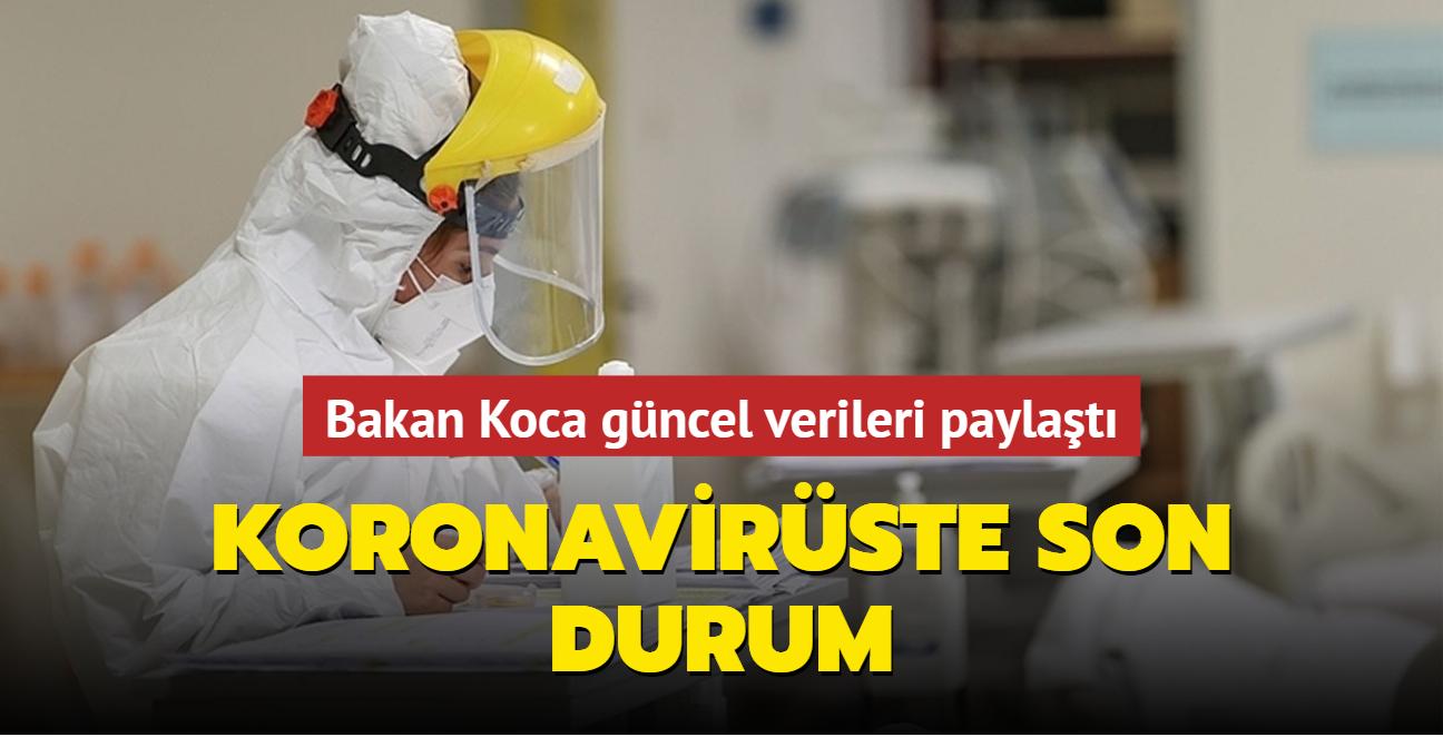 Sağlık Bakanı Fahrettin Koca Kovid-19 salgınında son durumu açıkladı... İşte 24 Ağustos 2021 koronavirüs tablosu