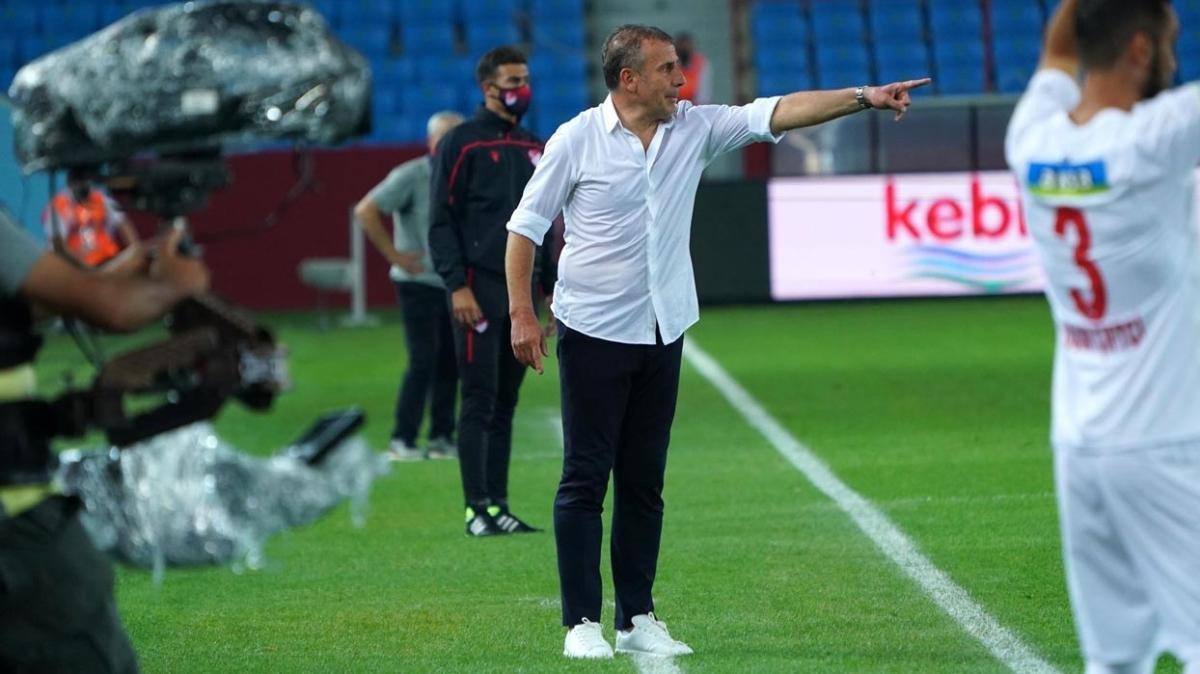 Abdullah Avcı Trabzonspor'daki hedefini belirledi