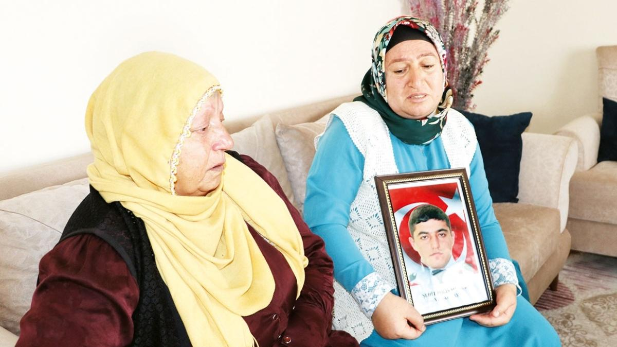 Anneler şehit acısını paylaştı