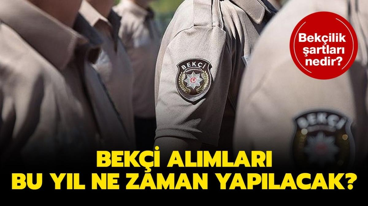 """EGM PA Jandarma bekçi alım şartları nedir"""""""