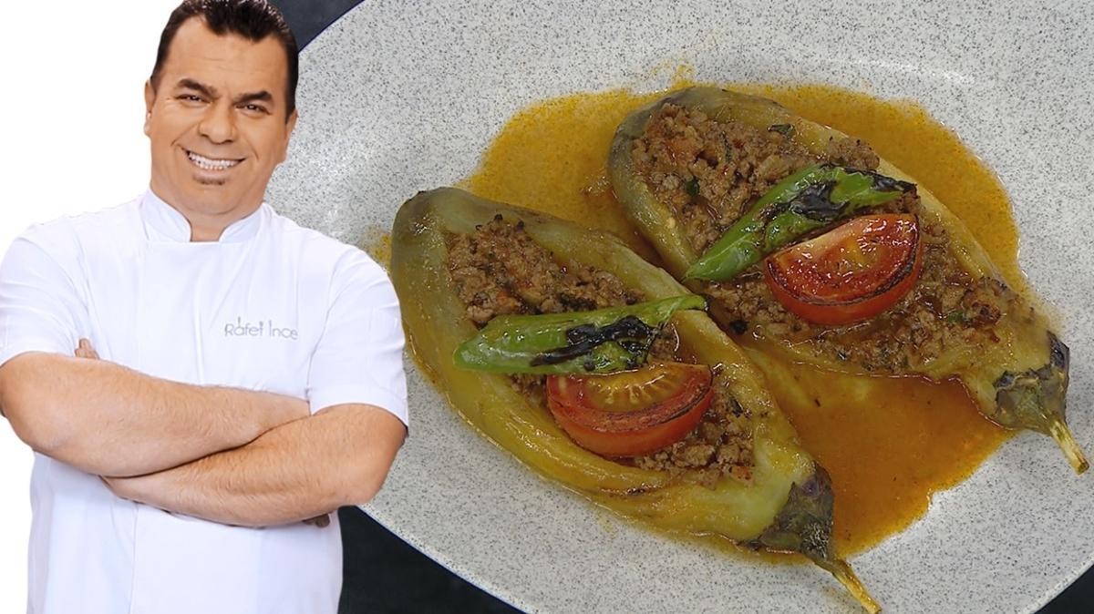 Hem hafif hem lezzetli karnıyarık tarifi! Közlenmiş patlıcanla karnıyarık tarifi
