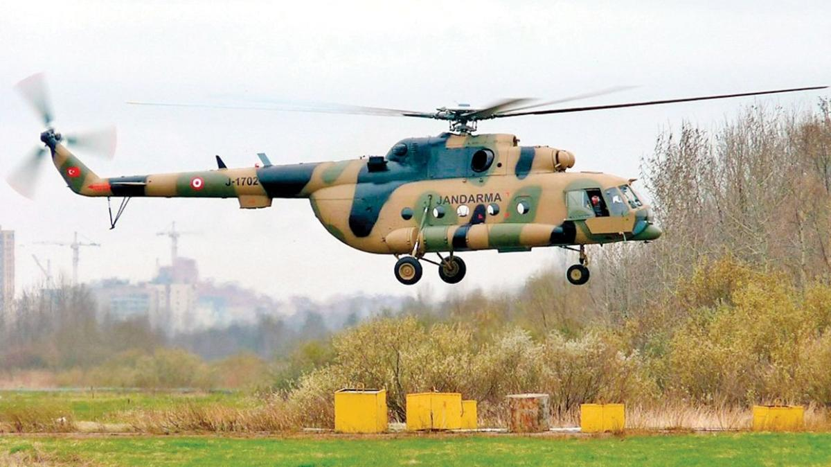 Mi-17 helikopterlerinin bakımı Türkiye'den