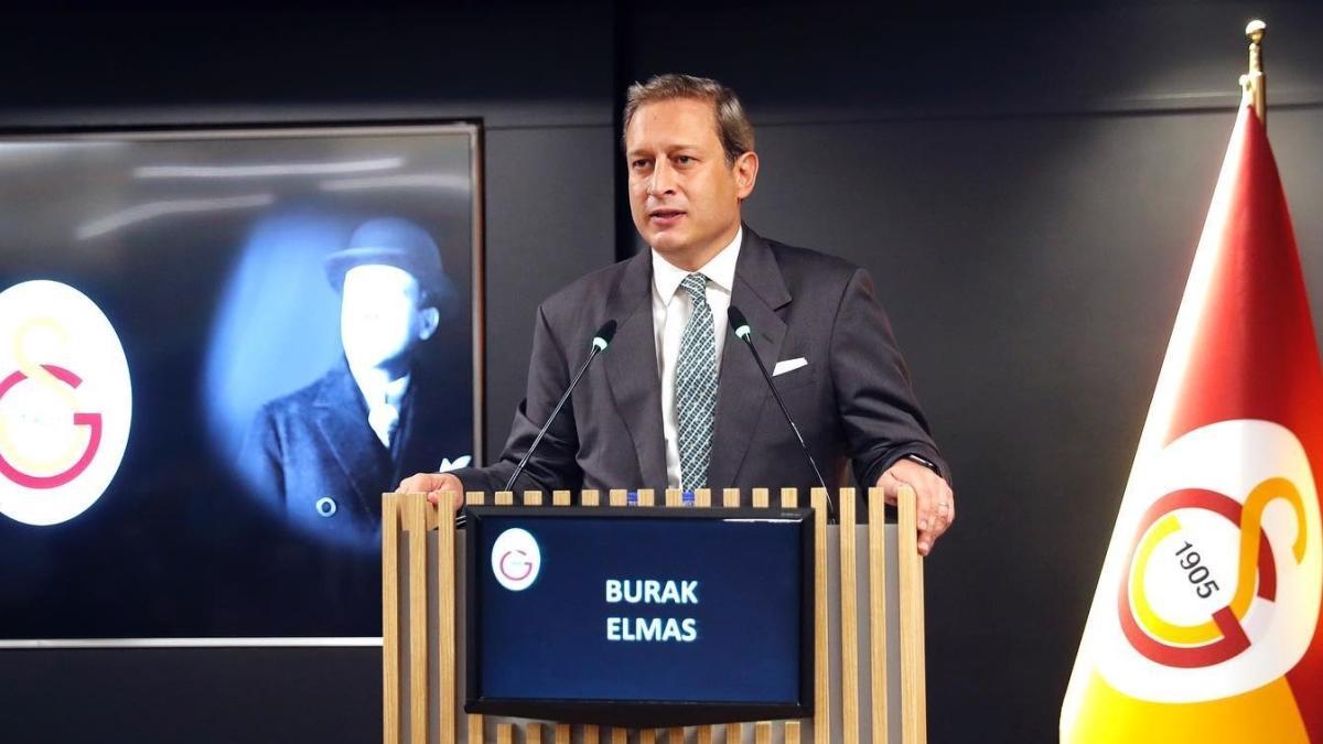 Galatasaray Başkanı Burak Elmas, PFDK'ye sevk edildi