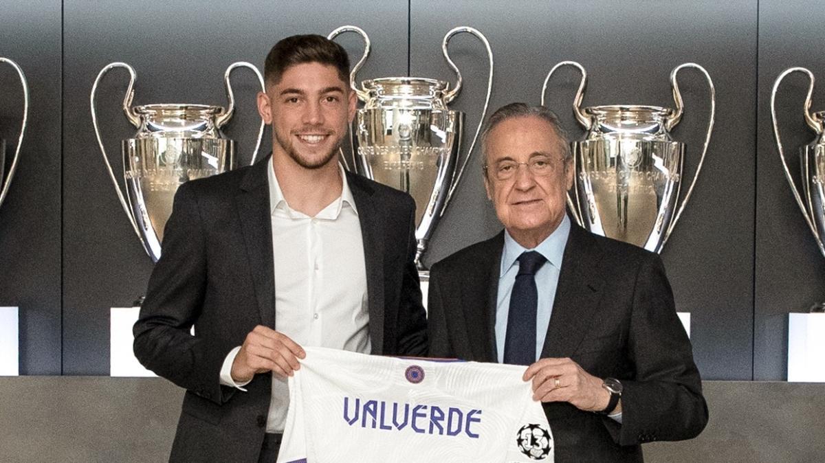 Real Madrid'den Fede Valverde ile yeni sözleşme imzaladı