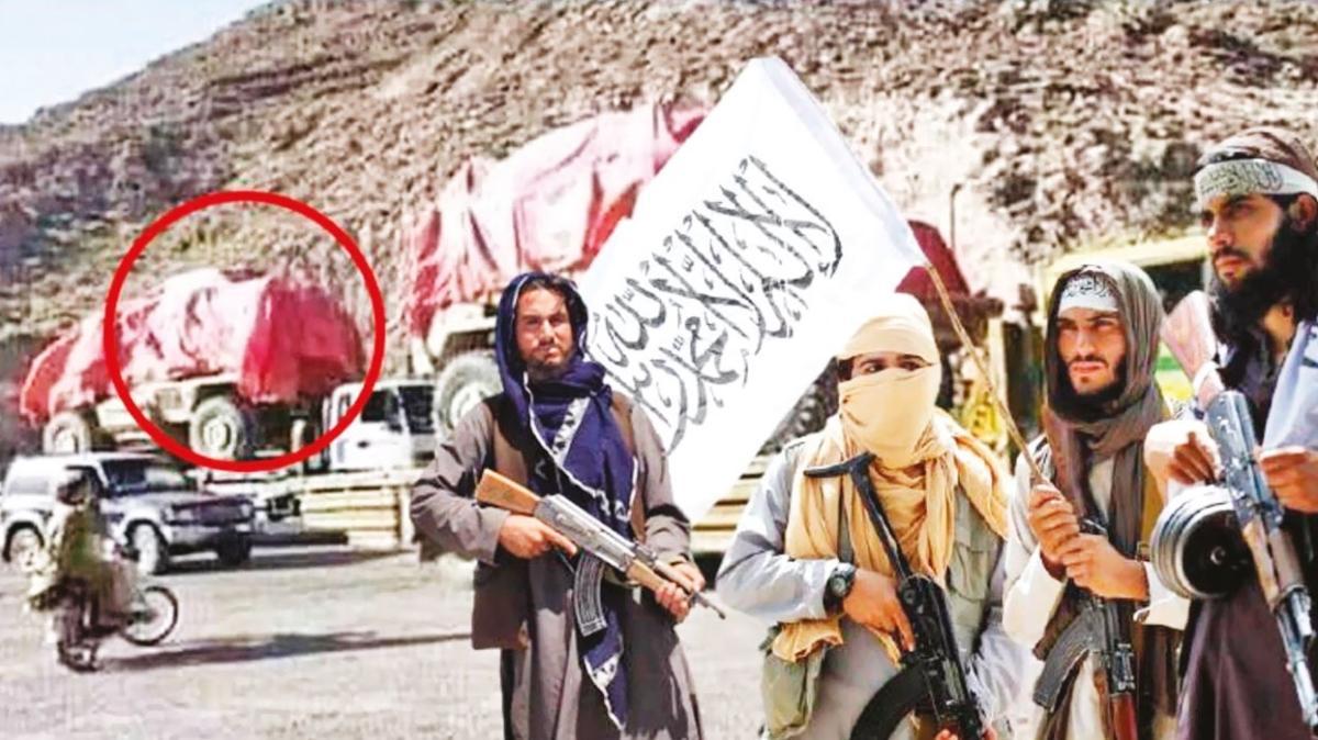 """Taliban zırhlıları ABD'ye iade mi ediyor"""""""