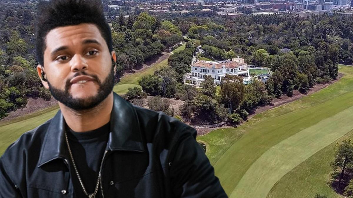 The Weeknd'in 590 milyon TL'lik evi gündem oldu