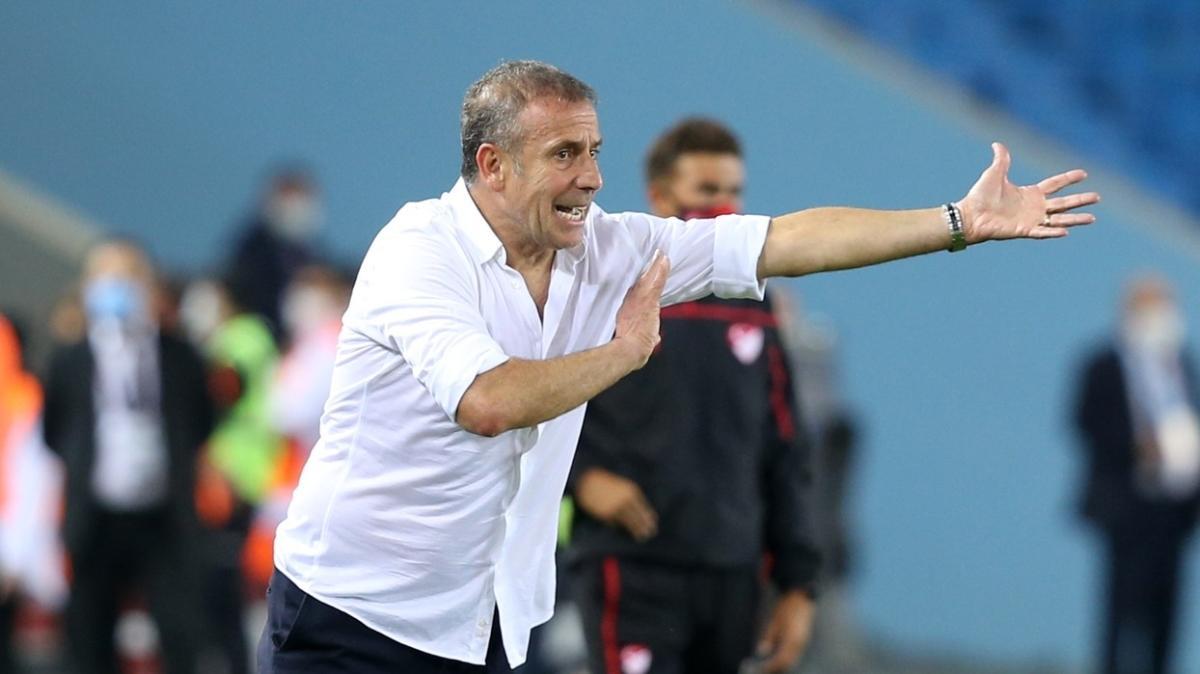 Trabzonspor'da Abdullah Avcı'nın serisi 14 maça çıktı