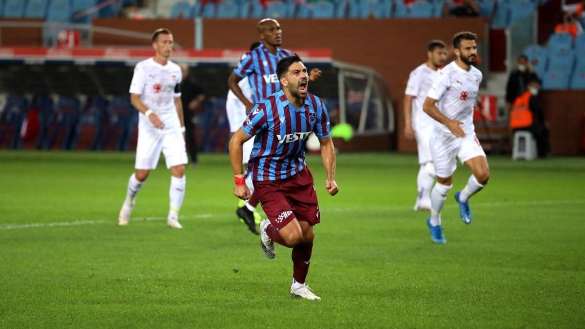 Trabzonspor'da Bakasetas'ın şovu devam ediyor