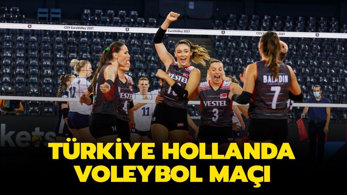 """Türkiye Hollanda voleybol maç sonucu nasıl"""""""