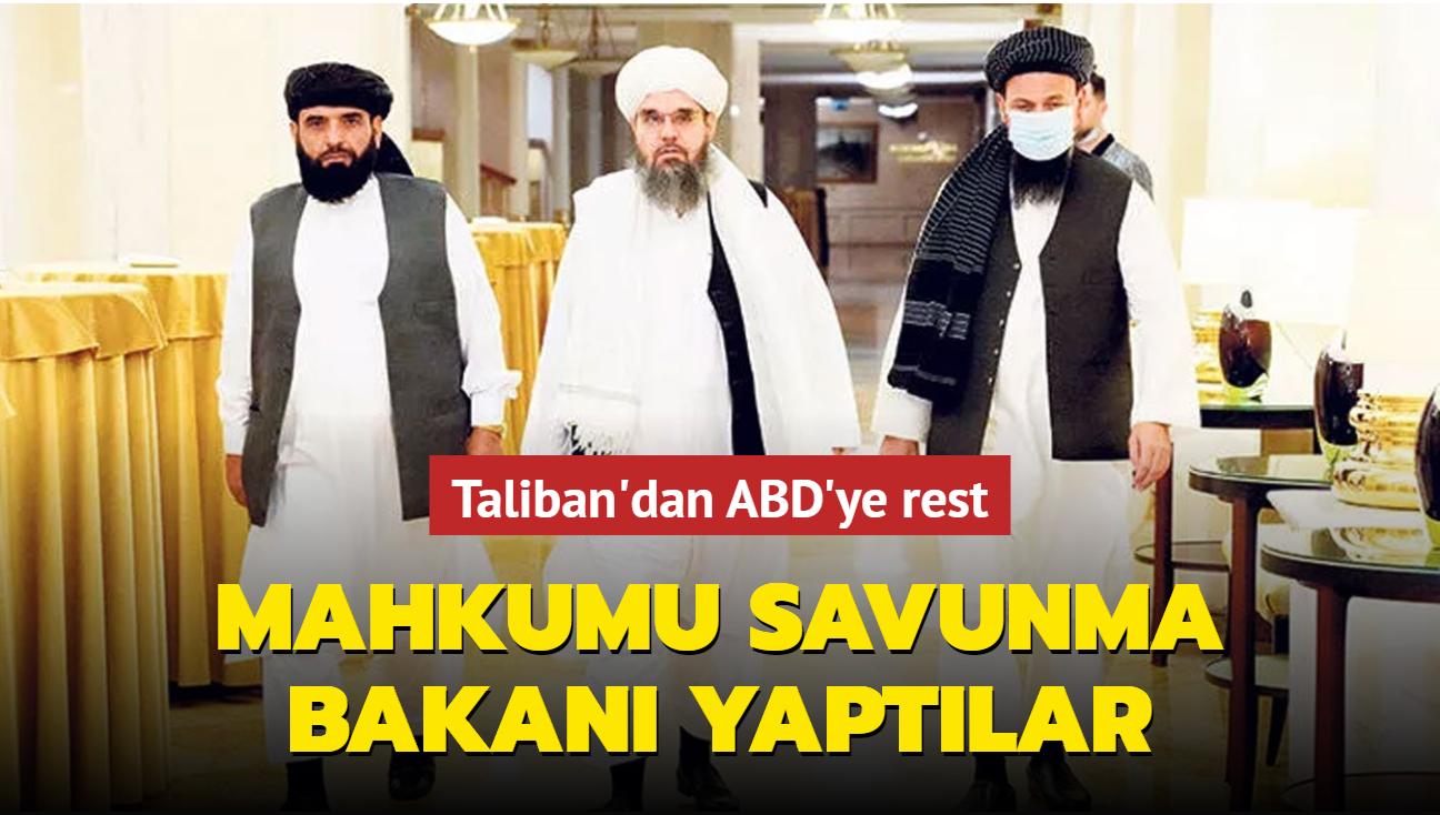 Taliban'dan yeni Savunma Bakanı ataması... Guantanamo mahkumu Abdul Kayyum Zakir göreve getirildi