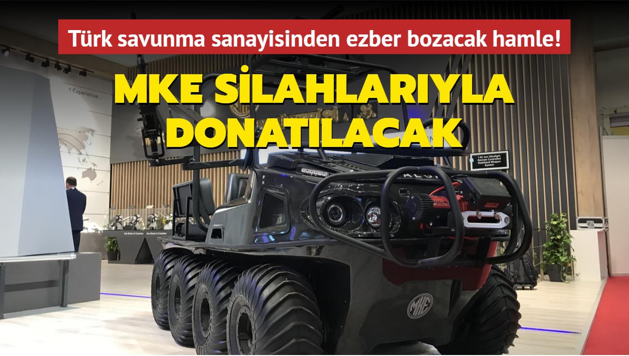 Türk savunma sanayisinden ezber bozacak hamle! MKE silahlarıyla donatılacak