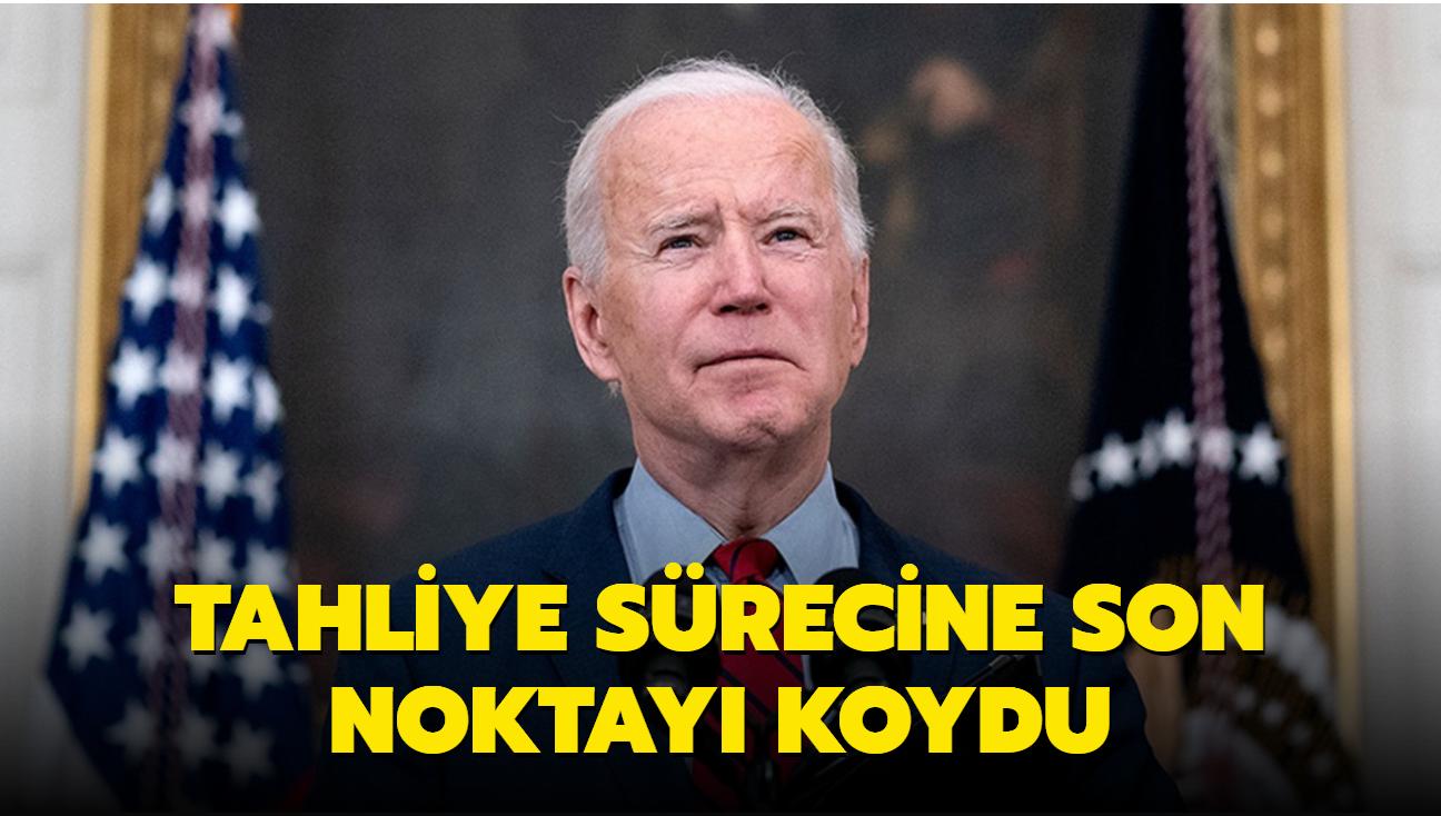 Son dakika haberi: ABD Başkanı Biden'dan Afganistan açıklaması