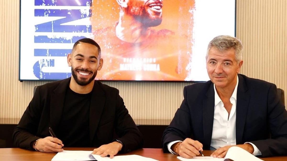 Atletico Matheus Cunha ile 5 yıllık sözleşme imzaladı