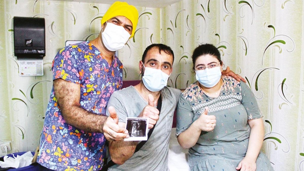 Fransa'da yiten umutlar Diyarbakır'da canlandı... İkiz bebek müjdesi