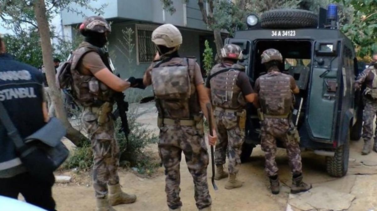 İstanbul'da narkotik baskını! Çok sayıda gözaltı