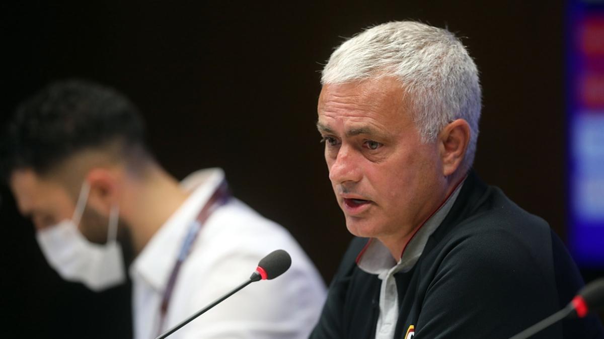 Jose Mourinho: Trabzonspor'un ilk maçtaki golü ofsayttı