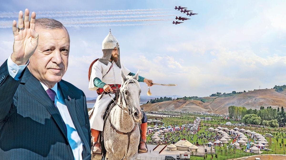 Malazgirt Zaferi kutlu olsun! 'İlk adım' 950 yaşında... Başkan Erdoğan: Artık her konuda söz sahibiyiz