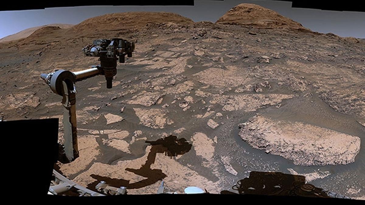 NASA'dan yeni Mars görüntüleri
