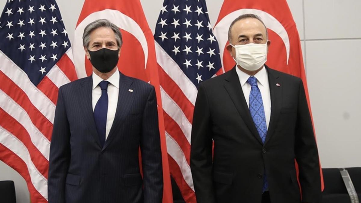 Son dakika haberi: Dışişleri Bakanı Çavuşoğlu ile Blinken görüştü