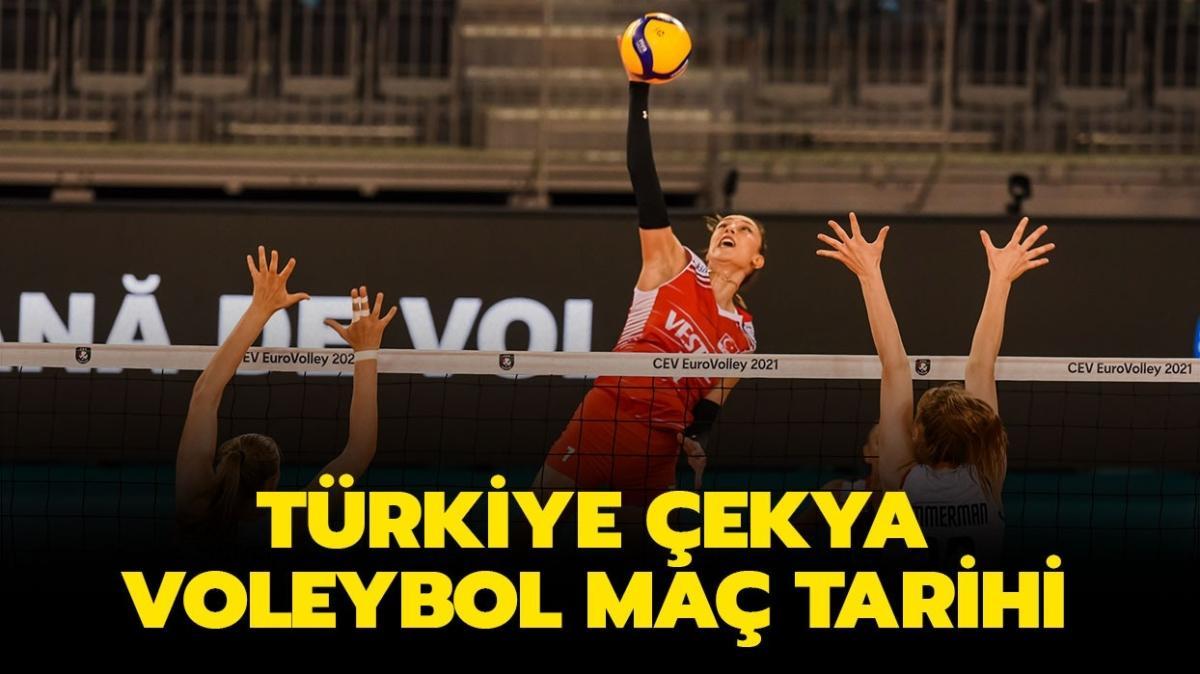 """CEV Avrupa Türkiye Çekya voleybol maçı saat kaçta"""" Türkiye Çekya voleybol maçı ne zaman, hangi gün"""""""