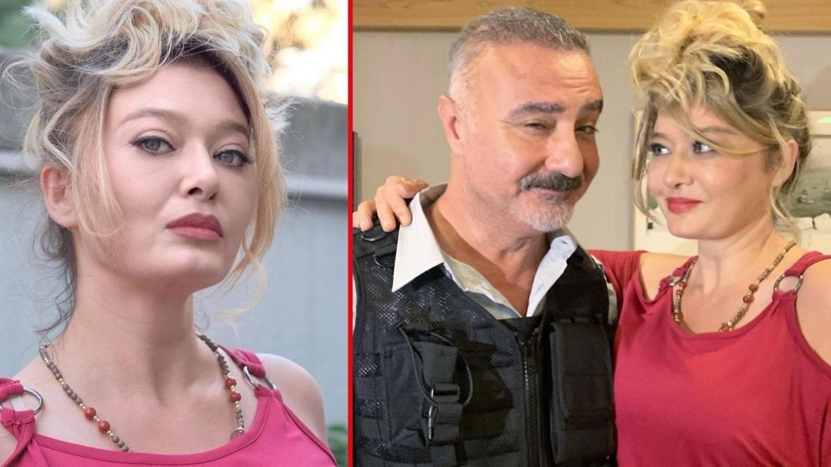 Nurgül Yeşilçay ve Cengiz Bozkurt'tan 'Kim Bu Aile' setinden ilk kare geldi