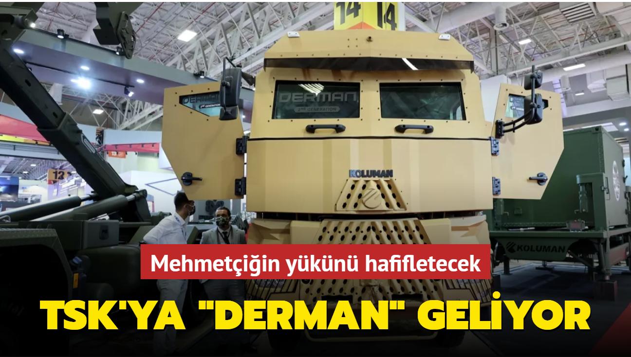 """TSK'ya """"Derman"""" geliyor"""