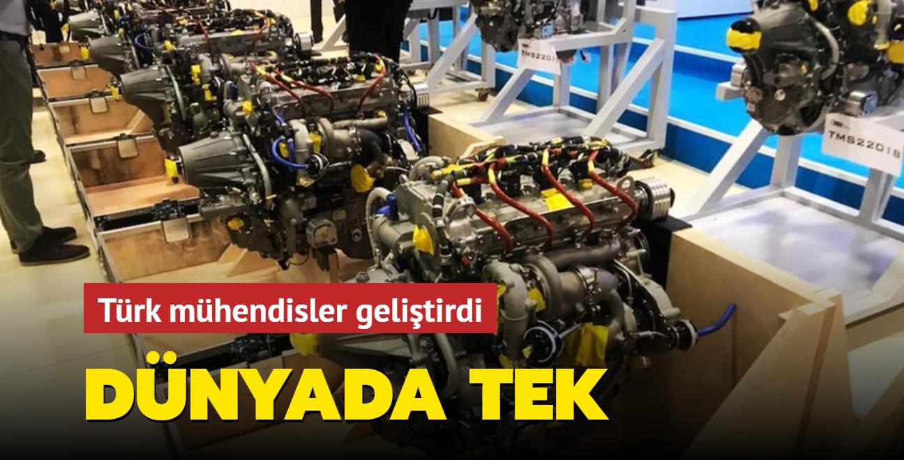 Yerli İHA'larda kullanılacak çift turbolu motor dünyada tek