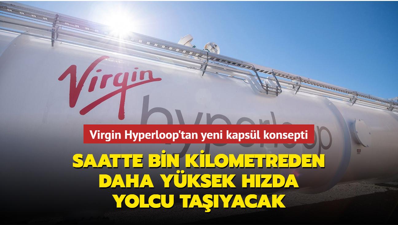 Virgin Hyperloop, mıknatıstan güç alan yeni kapsül konseptini görücüye çıkardı