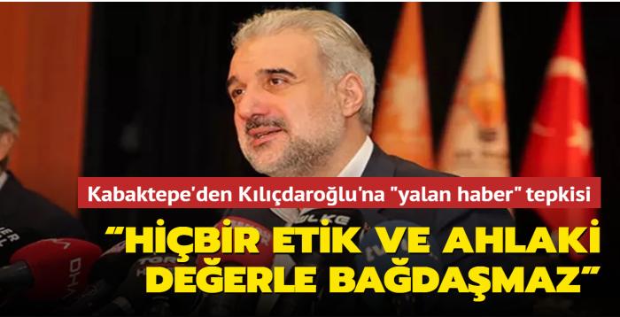 """AK Parti İstanbul İl Başkanı Osman Nuri Kabaktepe: """"Siyasetçinin görevi milletine karşı dürüst olmaktır"""""""