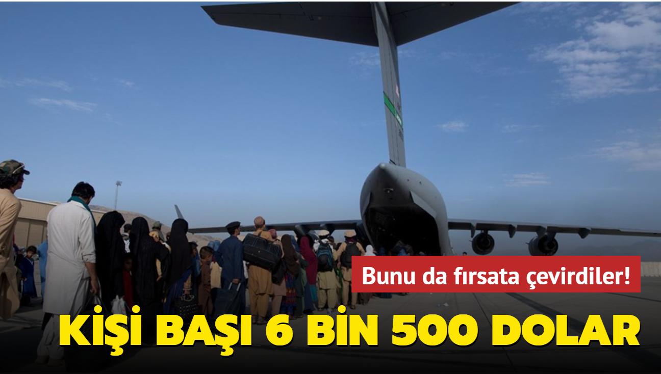 ABD, Kabil'den tahliyelerde kişi başı 6 bin 500 dolar alıyor