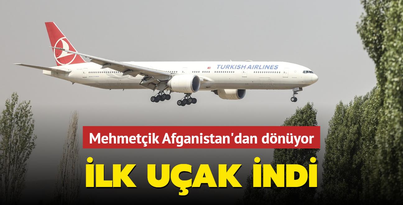 Mehmetçik Afganistan'dan dönüyor... İlk uçak indi