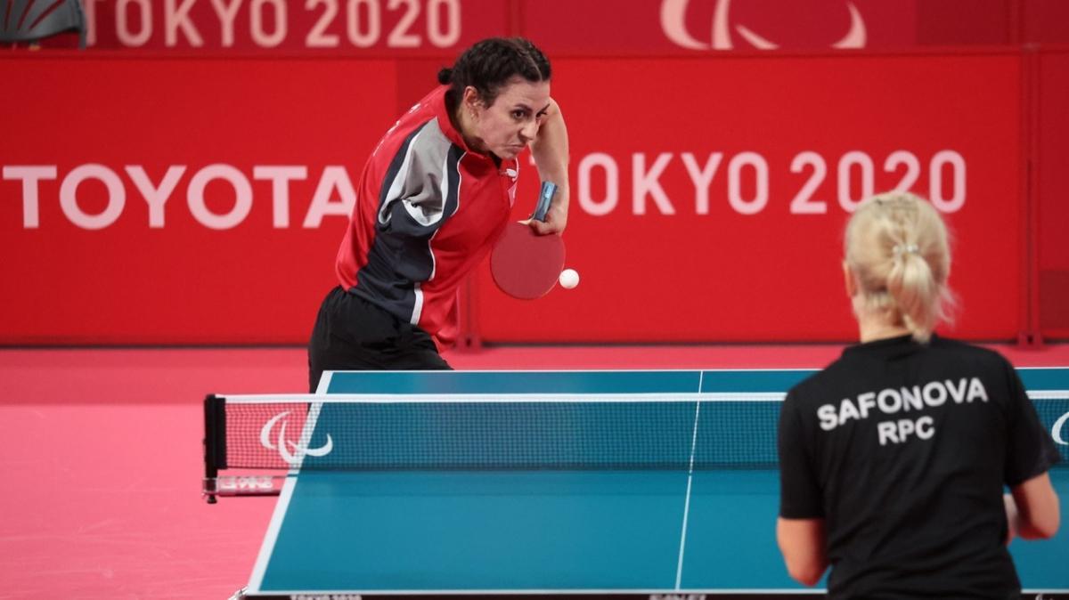 2020 Tokyo Paralimpik Oyunları'nda Kübra Korkut çeyrek finale yükseldi