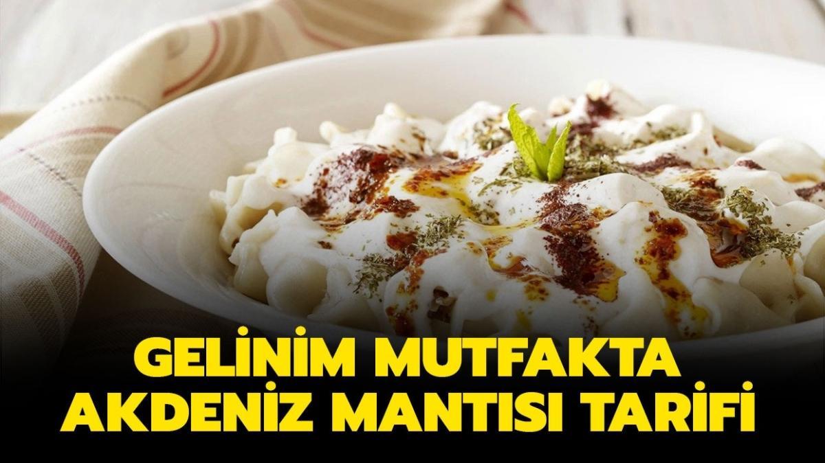 """Gelinim Mutfakta Akdeniz mantısı yapılışı burada! Akdeniz mantısı tarifi nasıl"""""""