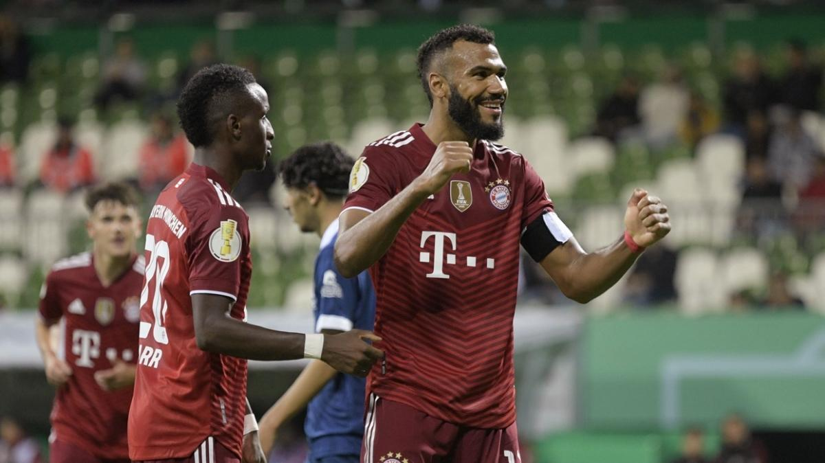 Bayern Münih, Almanya Kupası 1. tur maçında Bremer'i 12-0 mağlup etti