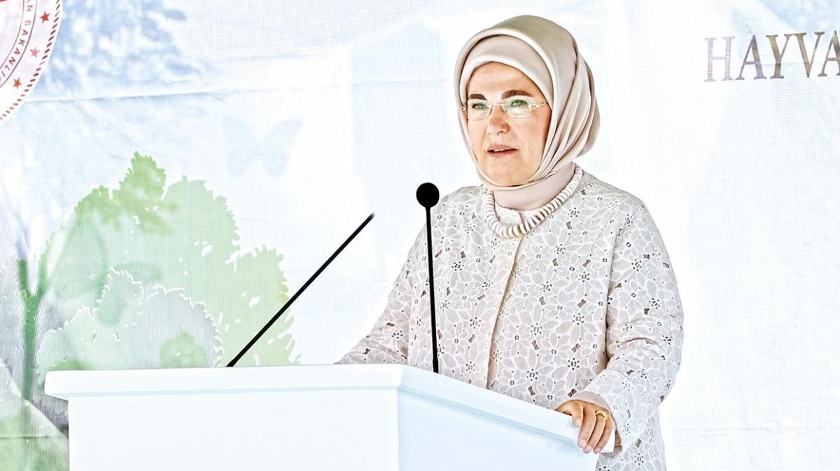 Emine Erdoğan'dan çevre uyarısı: Suyu korumak zorundayız