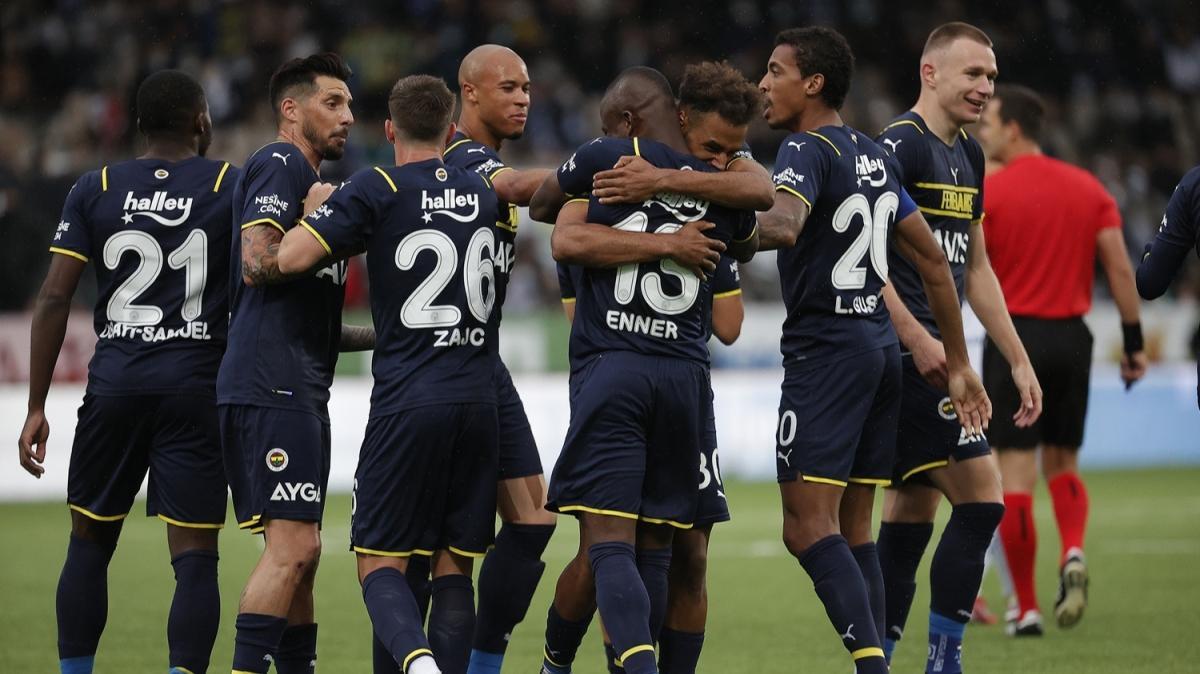 Fenerbahçe güle oynaya gruplara! 2-5