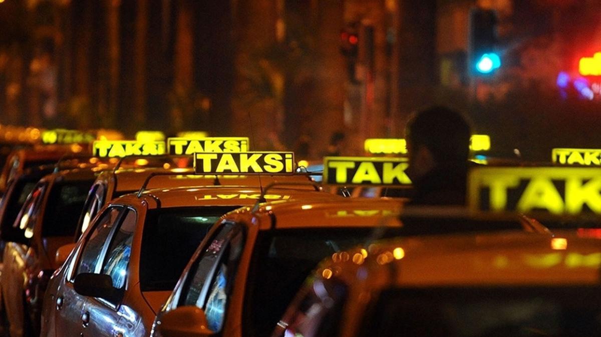 İBB'nin 1000 yeni taksi plakası teklifi oy çokluğuyla reddedildi