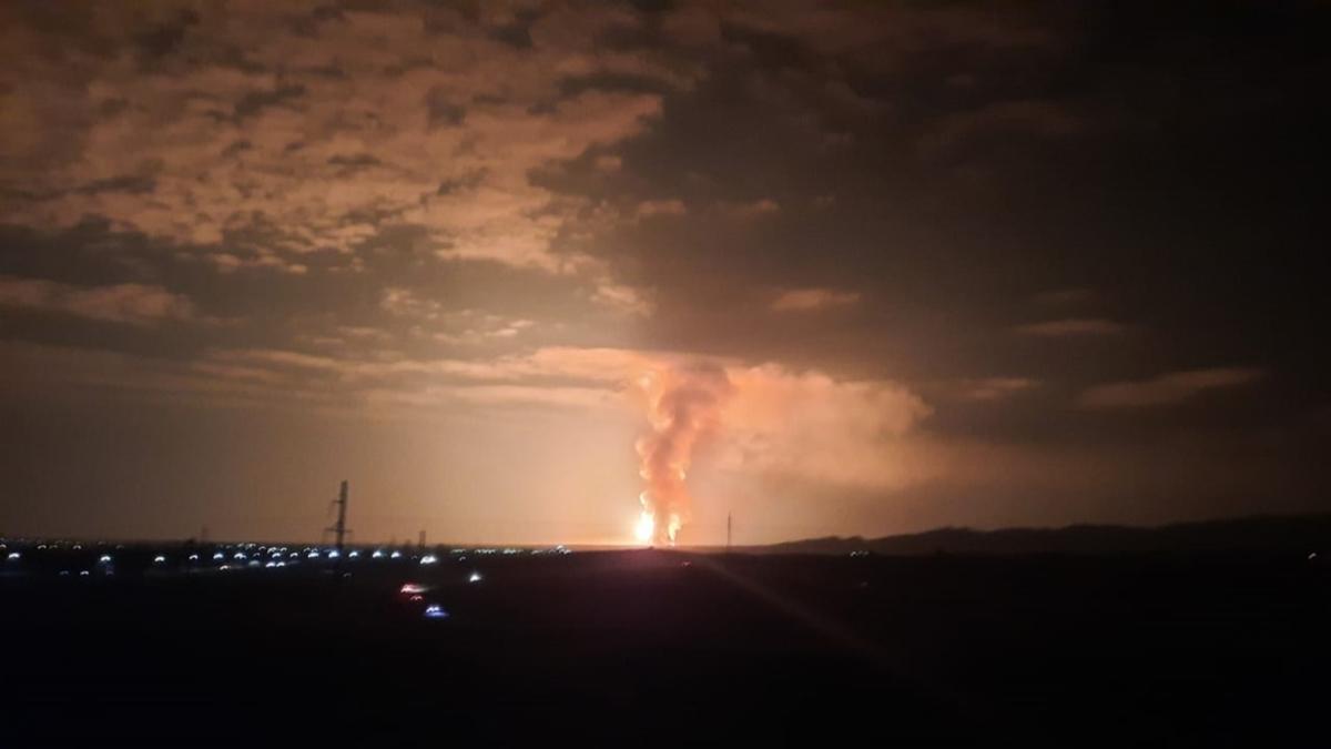 Kazakistan'da patlama