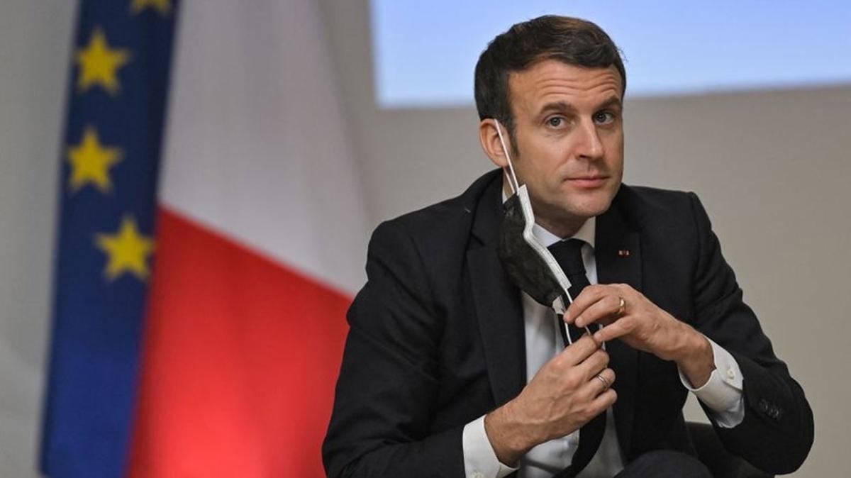 """Macron'un sertifikasına ulaşıldı... Fransa Cumhurbaşkanı Kovid-19'a karşı ne zaman aşılandı"""""""