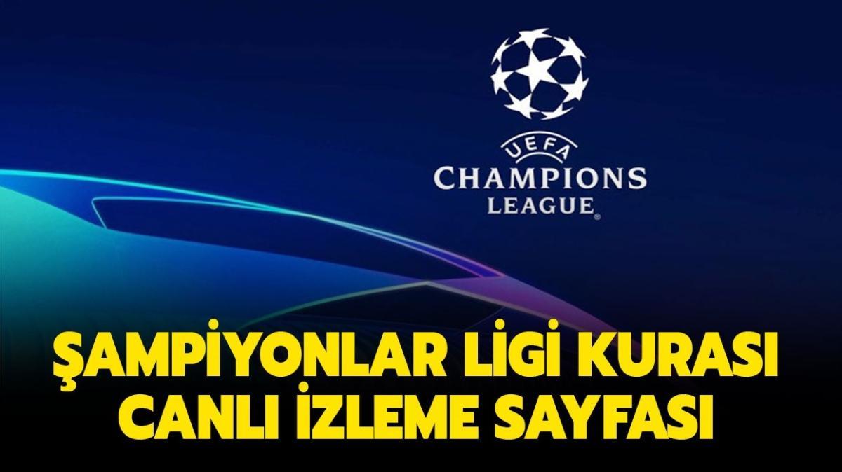 """Şampiyonlar Ligi kura çekimi yapıldı! Beşiktaş'ın rakipleri kimler oldu"""""""