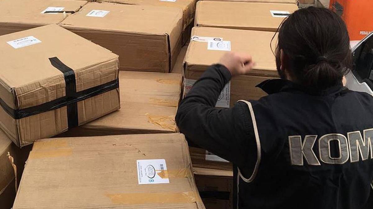 Şanlıurfa'da kaçak tütün operasyonu: Binlercesi ele geçirildi