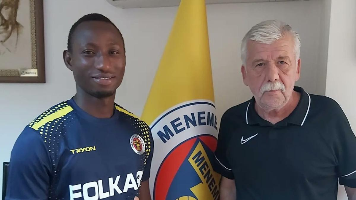 Senegalli golcü Edouard Karamo Ndiaye Menemenspor'da