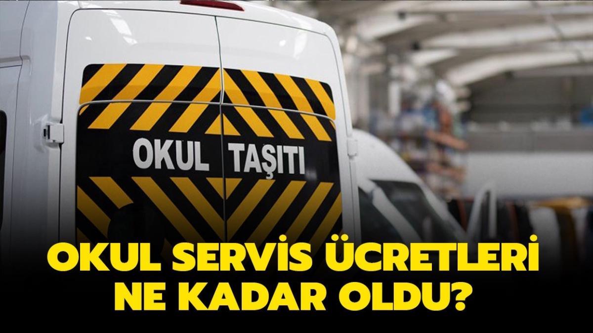 """Servis ücretleri ne kadar oldu"""" İstanbul, Ankara, İzmir okul servis ücretleri açıklandı mı"""""""