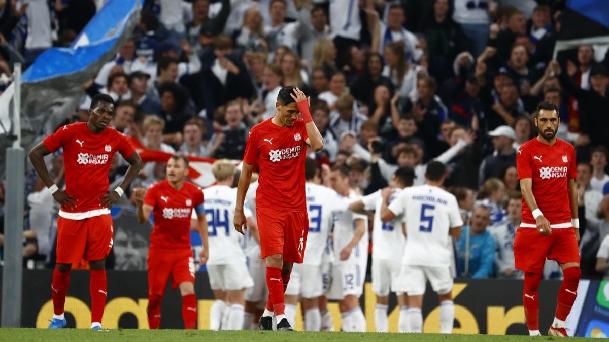 Sivasspor, Avrupa'ya farklı veda etti: 5-0