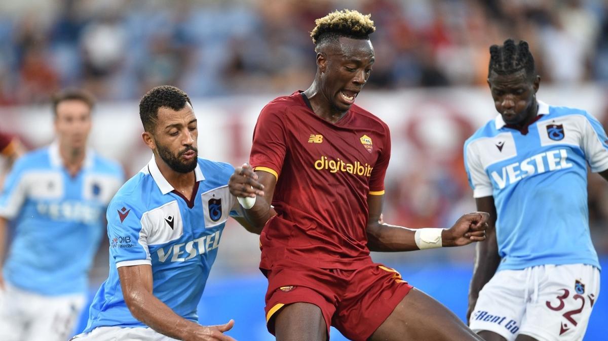Roma'da yanan Trabzonspor oldu: 3-0