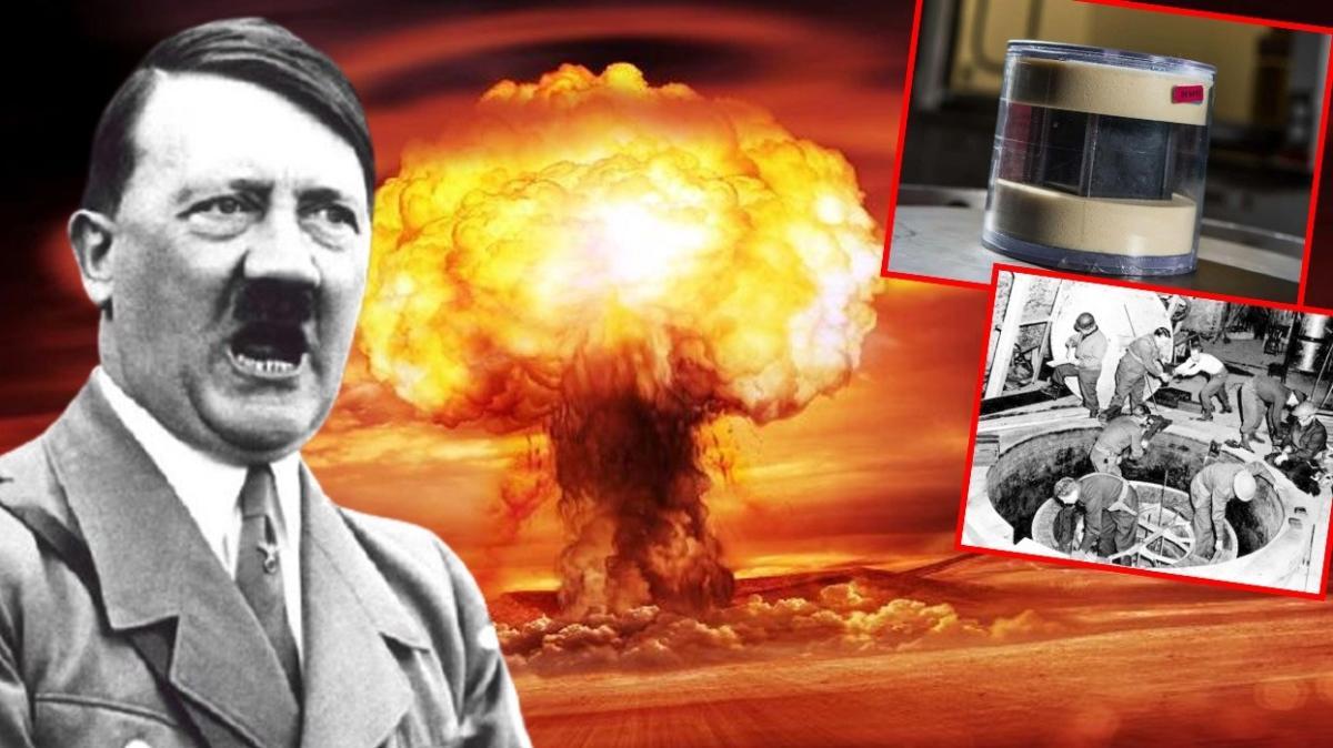 Uranyum küpleriyle ilgili detaylar gün yüzüne çıktı... Hitler, atom bombası üretmeye çok yaklaşmış