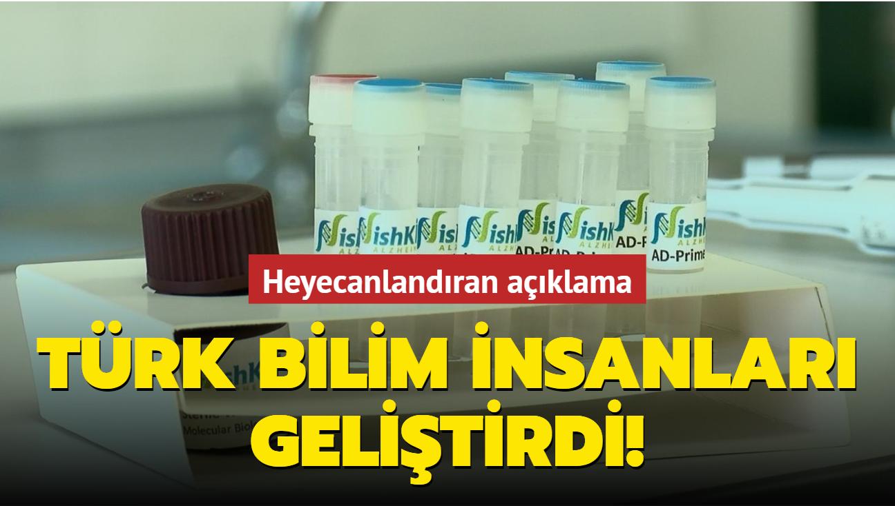 Türk bilim insanları geliştirdi: 'Alzheimer' riskini ölçen kit
