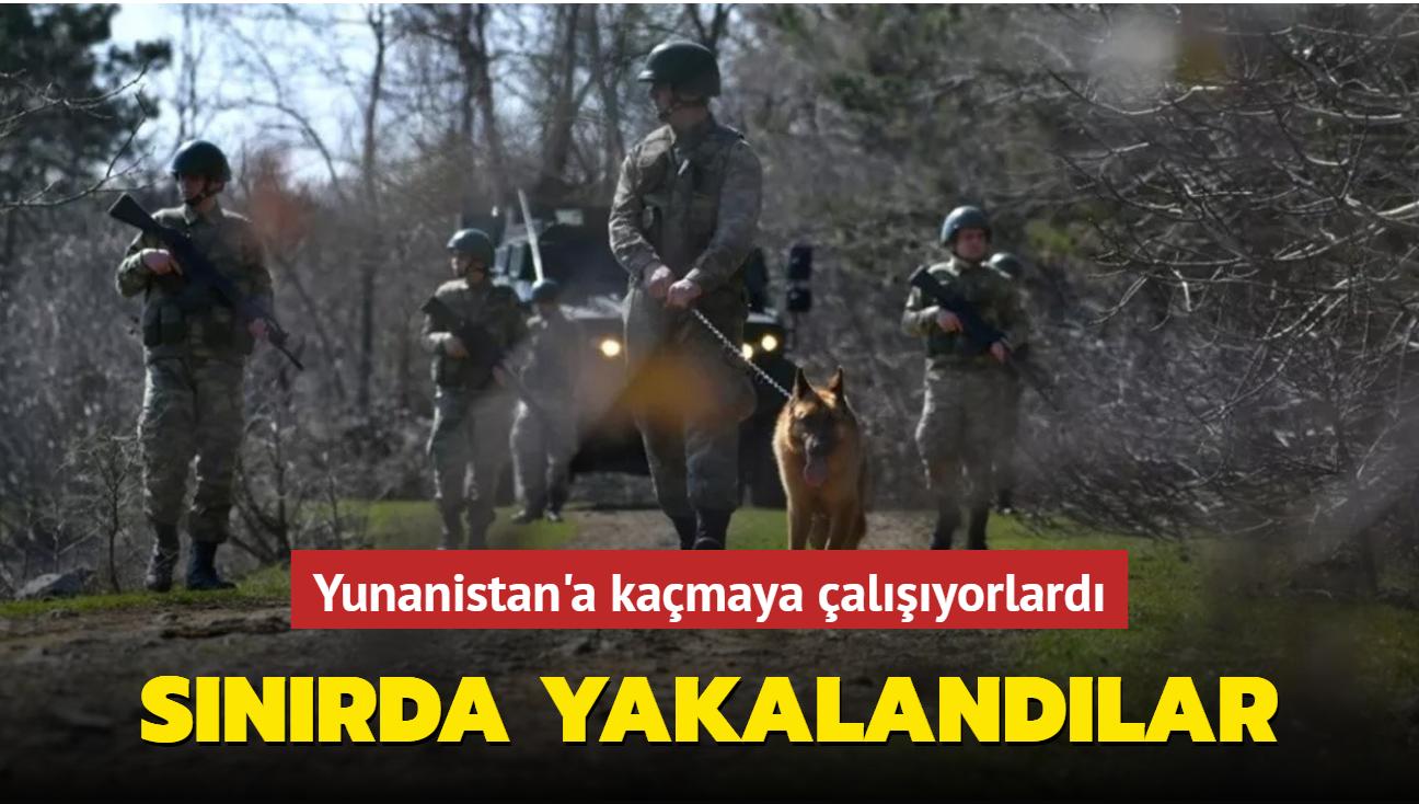 Yunanistan'a kaçmaya çalışan FETÖ şüphelileri Edirne'de gözaltına alındı