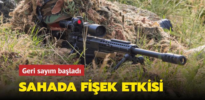 Yerli tüfekler sahada güvenlik güçlerinin elini güçlendirecek