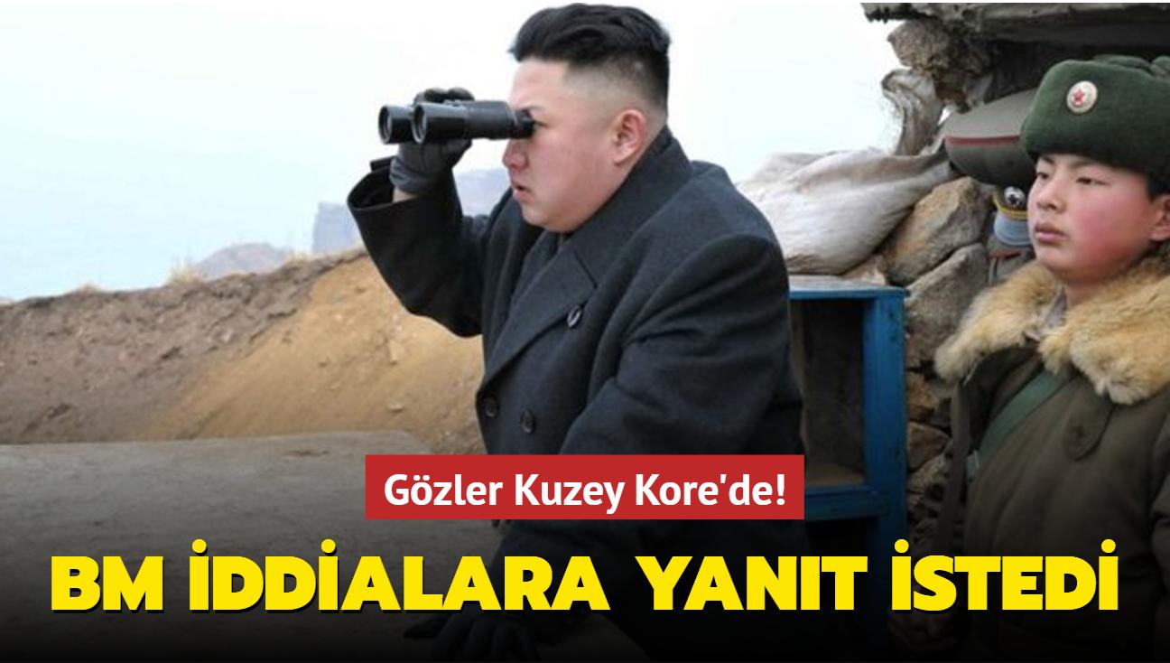 """BM, Kuzey Kore'den """"sınırı ihlal edenlere ateş etme emri"""" iddialarını yanıtlamasını istedi"""